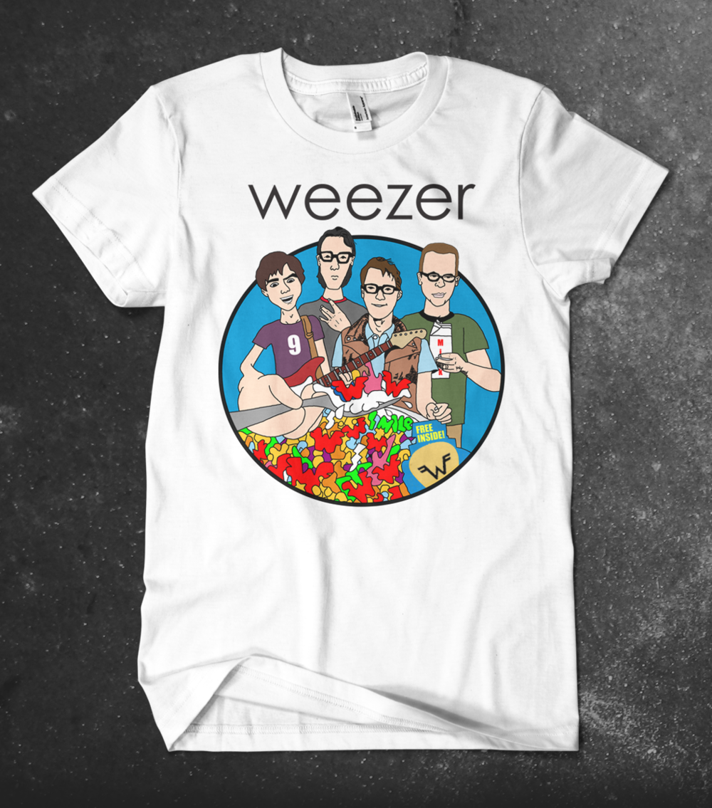 Weezer | Enlightenment Tour Merchandise