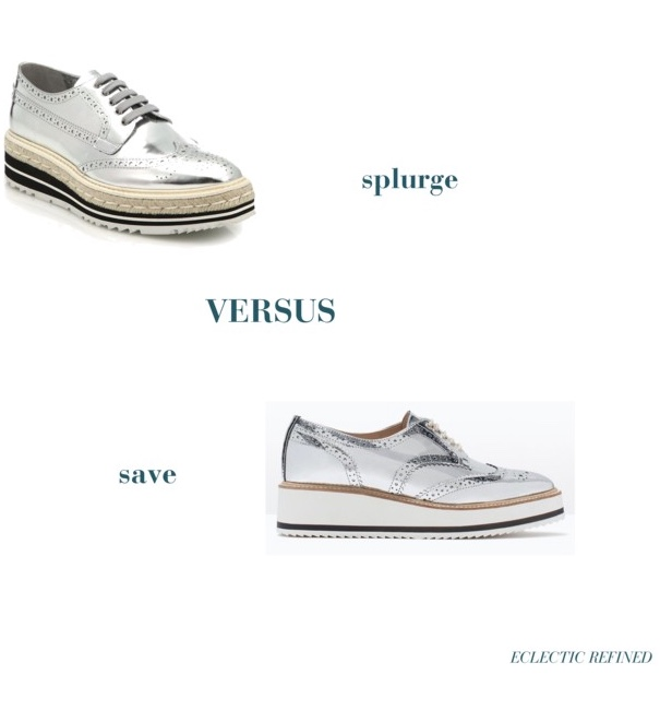 6645b04e97 splurge versus save: silver platform brogues — LYGIE.COM