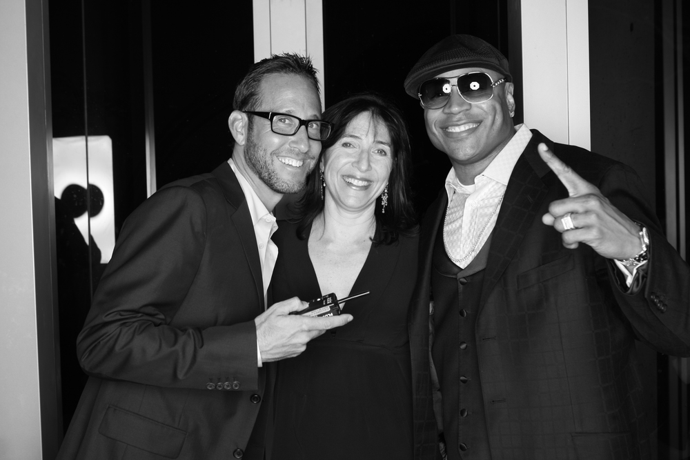 Producer Richard Weitz and LL cool J