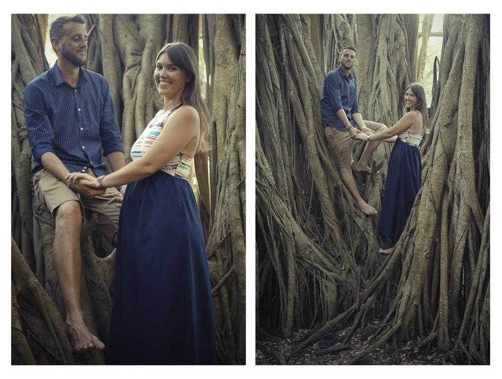 Impromptu Engagement Shoot, Oahu, 2015