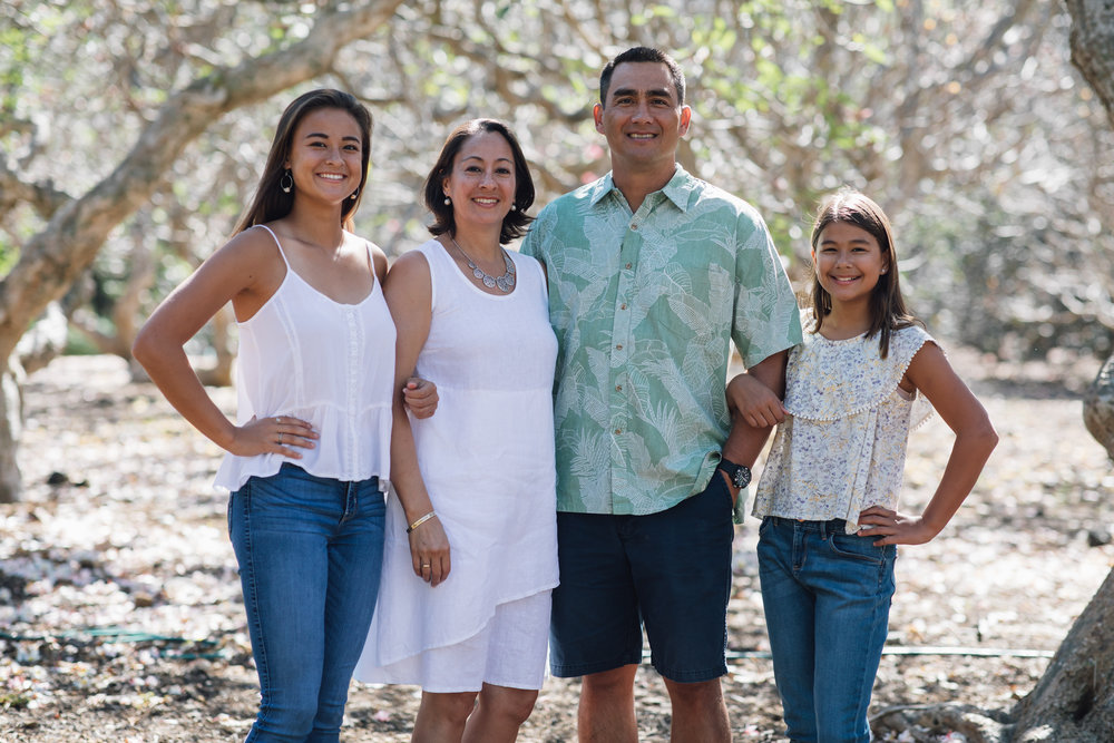 Jones Family Portrait, Oahu, 2018