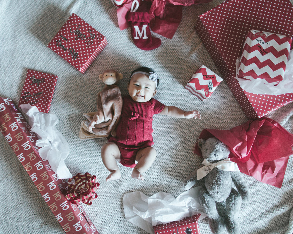 12.25.2016 // mia's first christmas. our greatest gift we all could've asked for.
