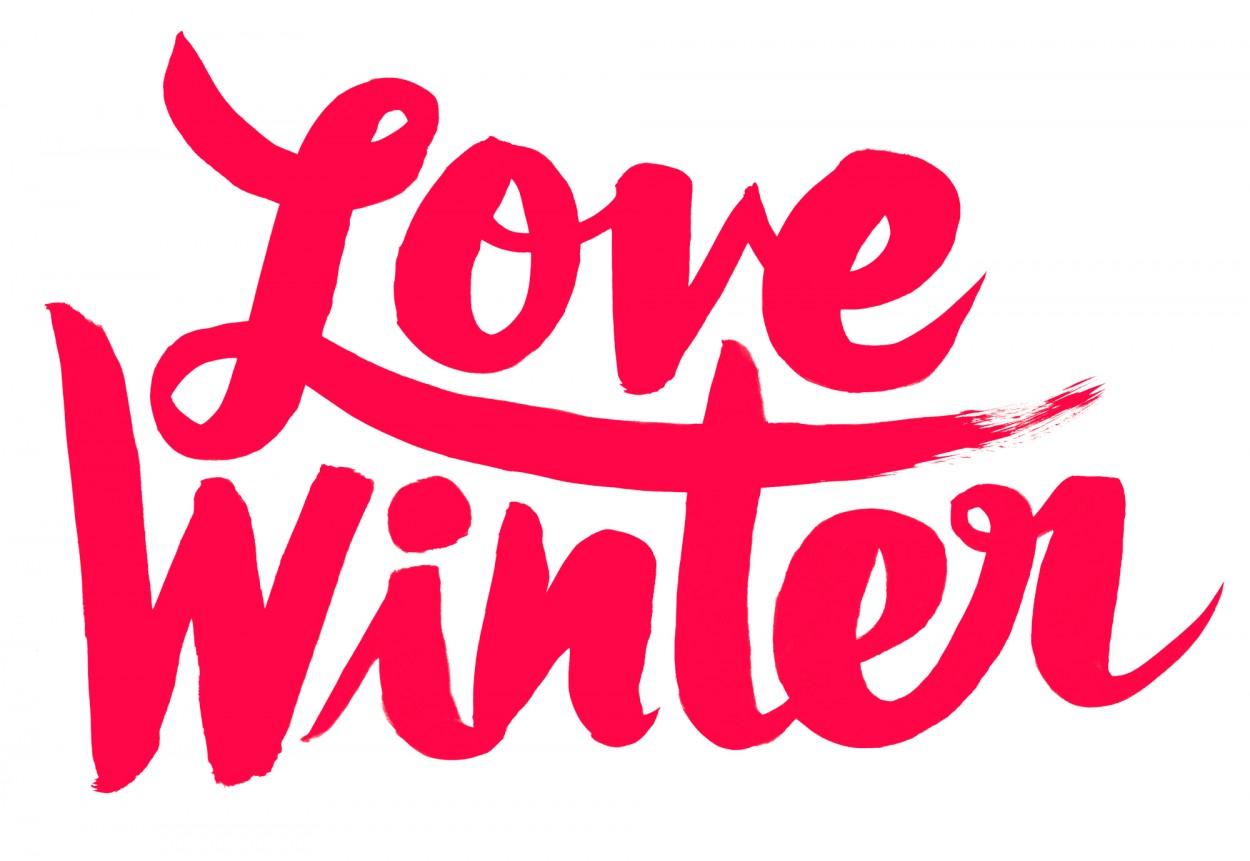 Typeverything.com - Love Winter (via  Just around the corner. — Friends of Type )
