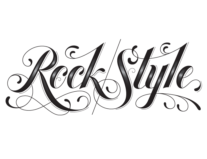 typeverything :     Rock Style by Jessica Hische