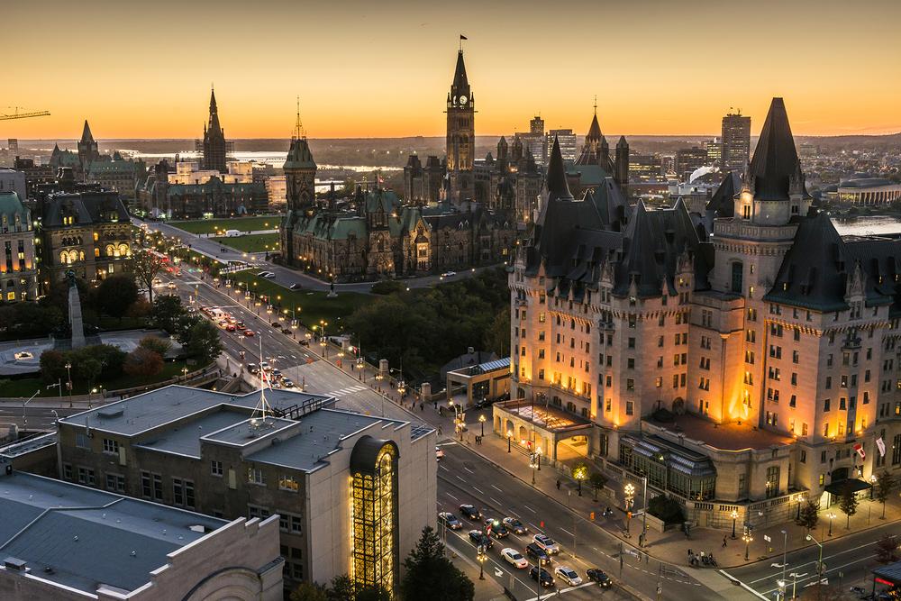 Une capitale du G7 avec plus de 130 ambassades et consulats