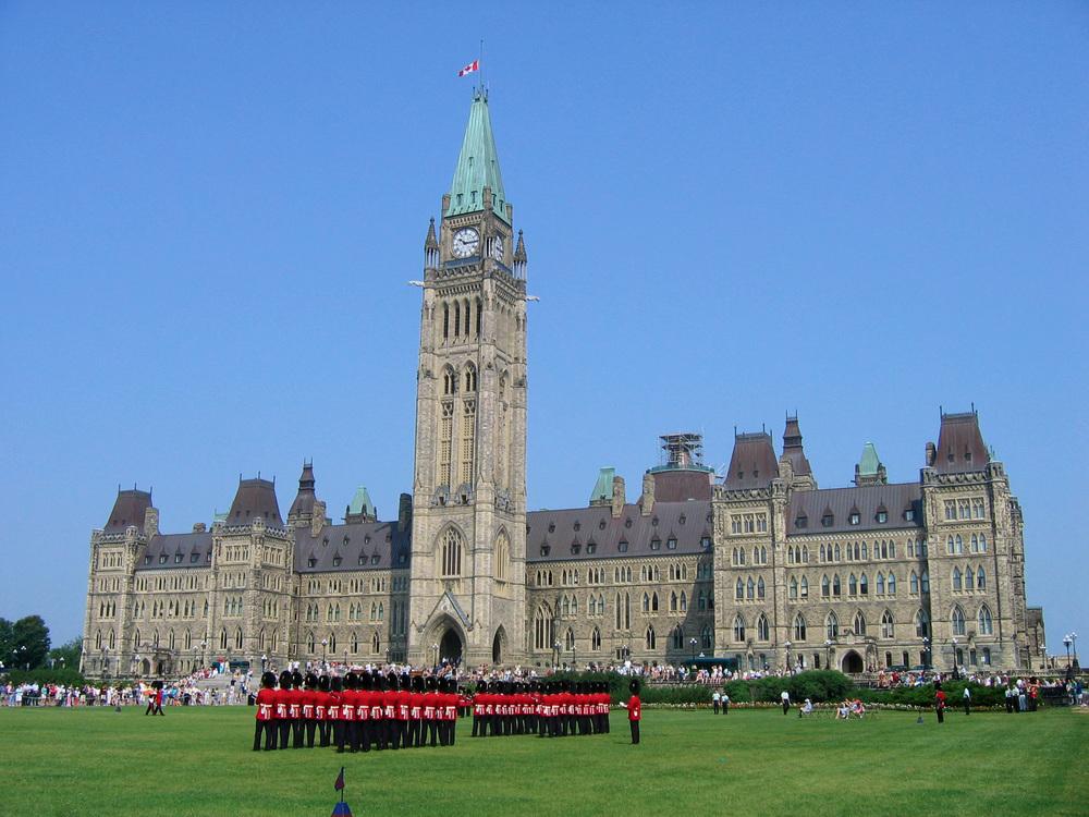 Capitale du Canada - Lieu du gouvernement du Canada, de la Cour Suprême du Canada et de nombreux ministères et organismes fédéraux
