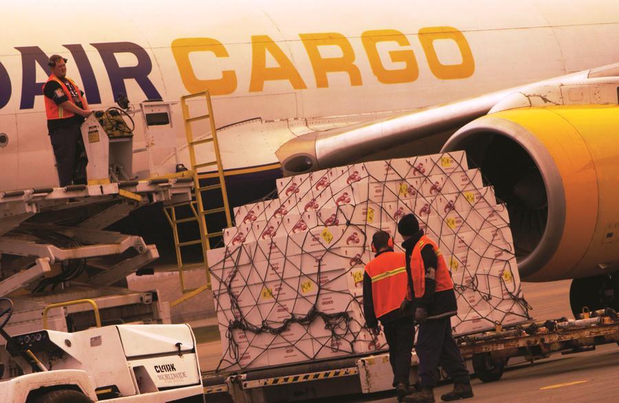 Plaque tournante du transport et de la logistique nord-américaine
