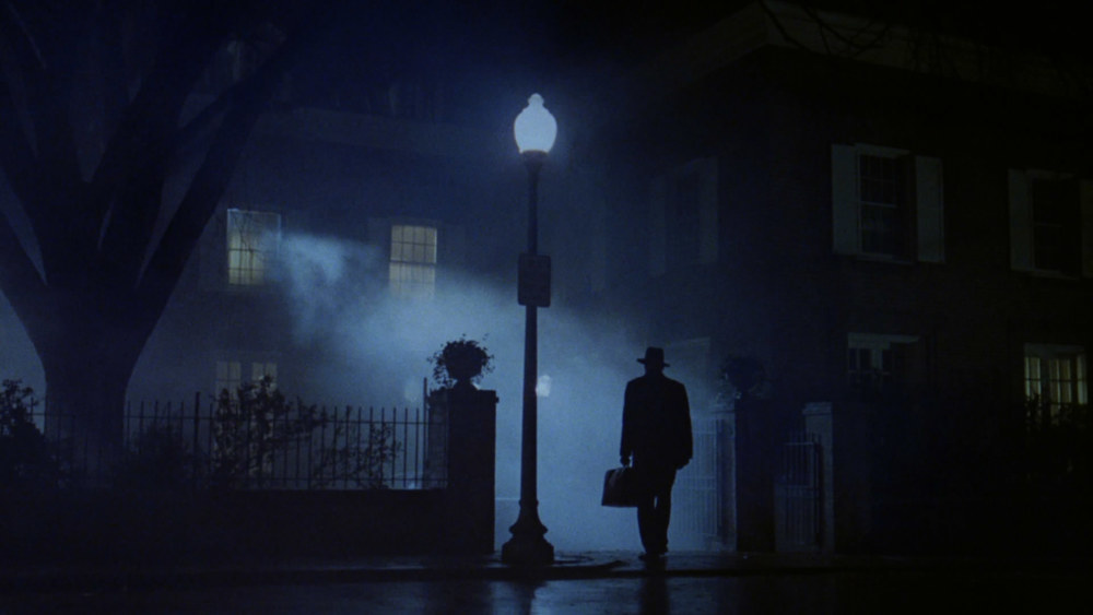 Atmospheric entry of the Exorcist.