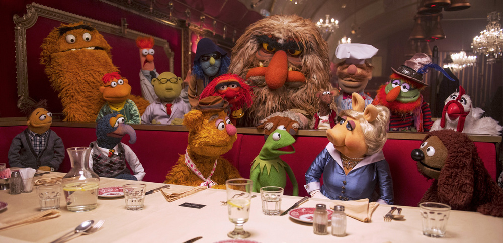 The muppets are all here.