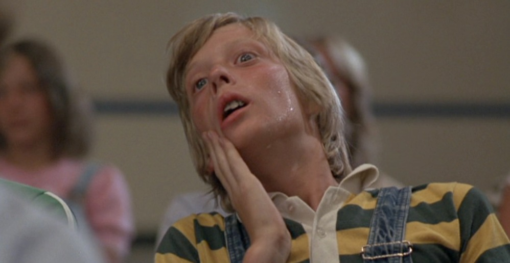 Funniest scene in the movie, this kid's test while on an acid trip.