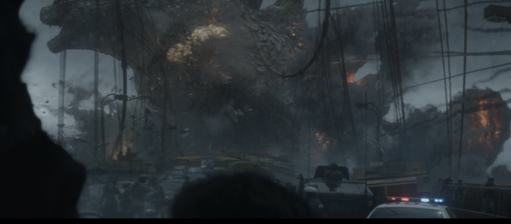 Savor this decently lit snap of the King of Monsters, it's one of the few.