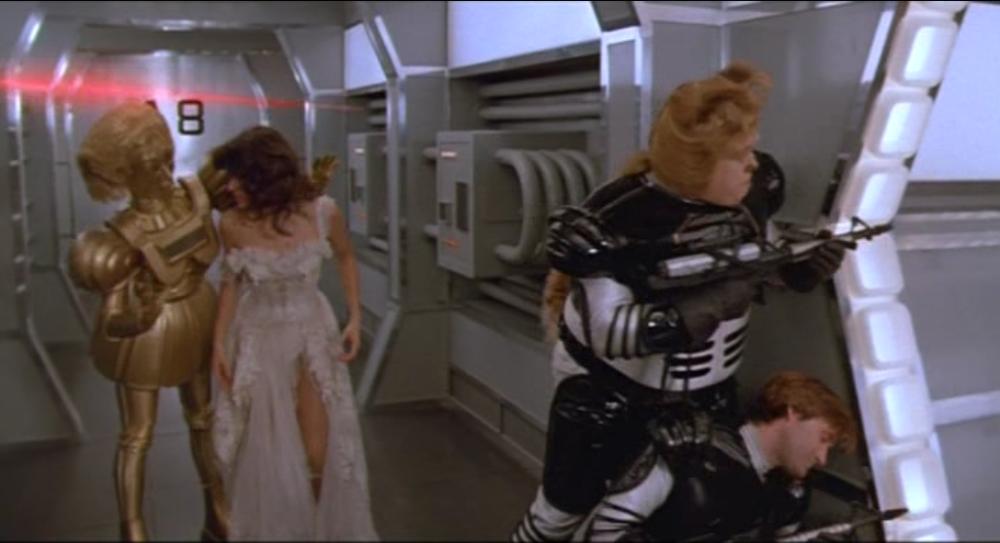 Laser battles!