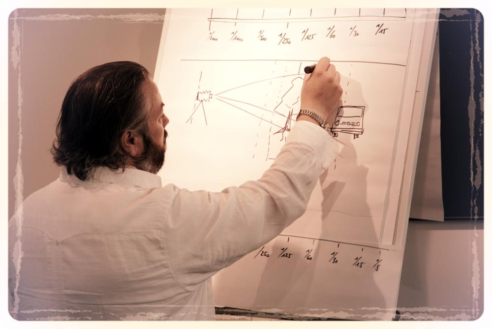 Obwohl wir sehr vieles direkt unter Anleitung praktisch üben können, wird einiges erst richtig verständlich mit den theoretischen Grundlagen
