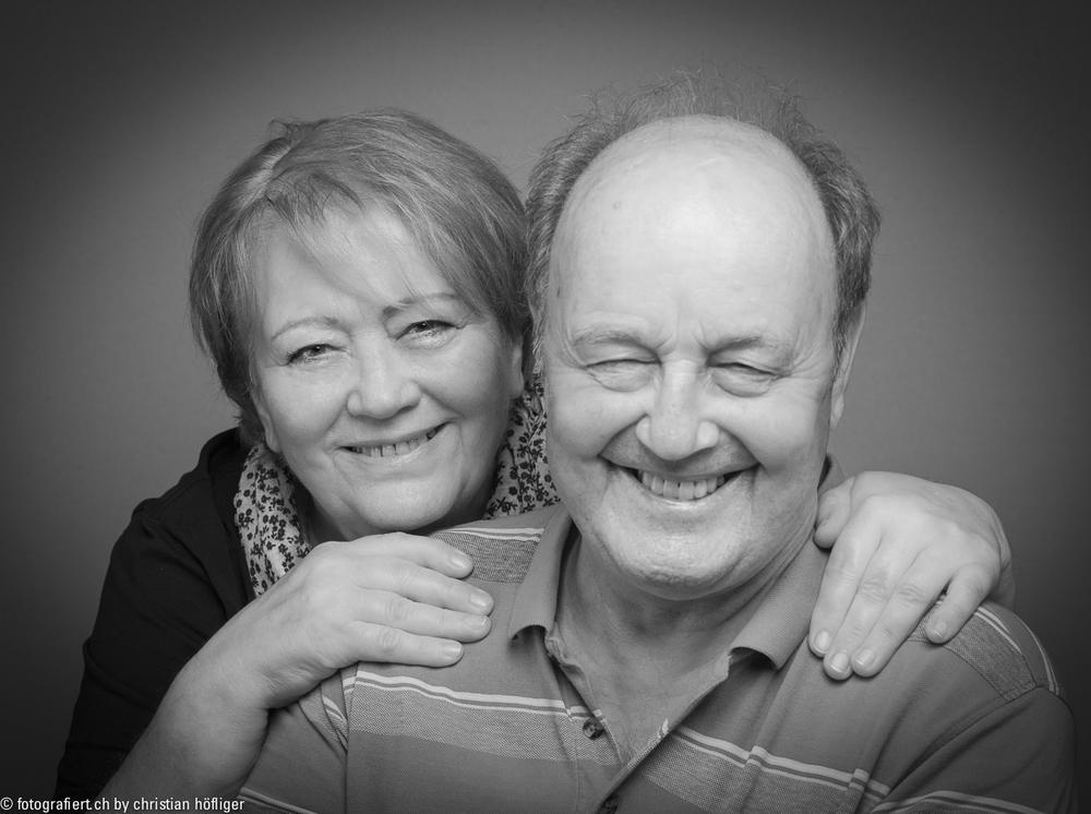 Meine Eltern, so wie ich sie sehe! … auch wenn sich die beiden zuerst etwas geziert haben ;)