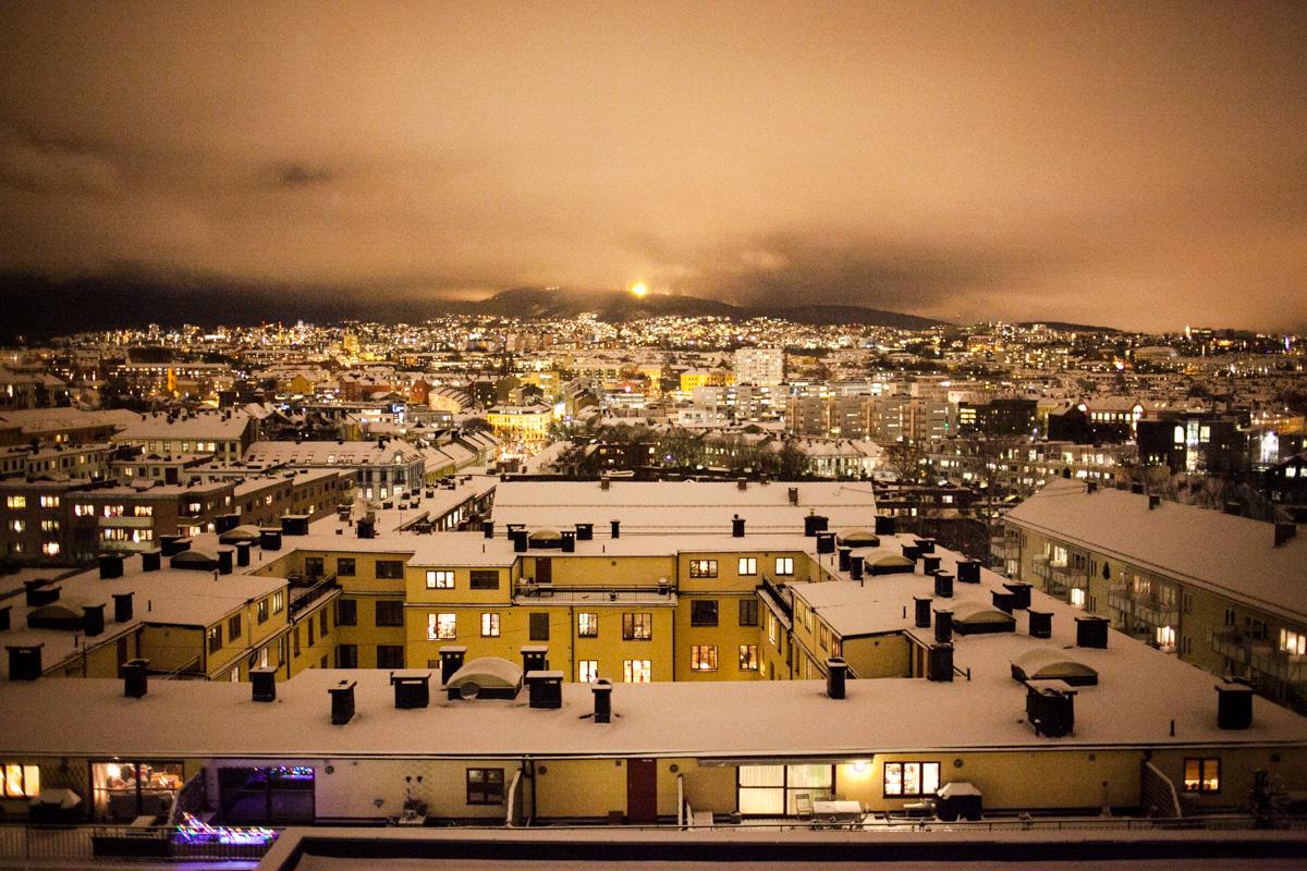 Winter has come to Oslo.