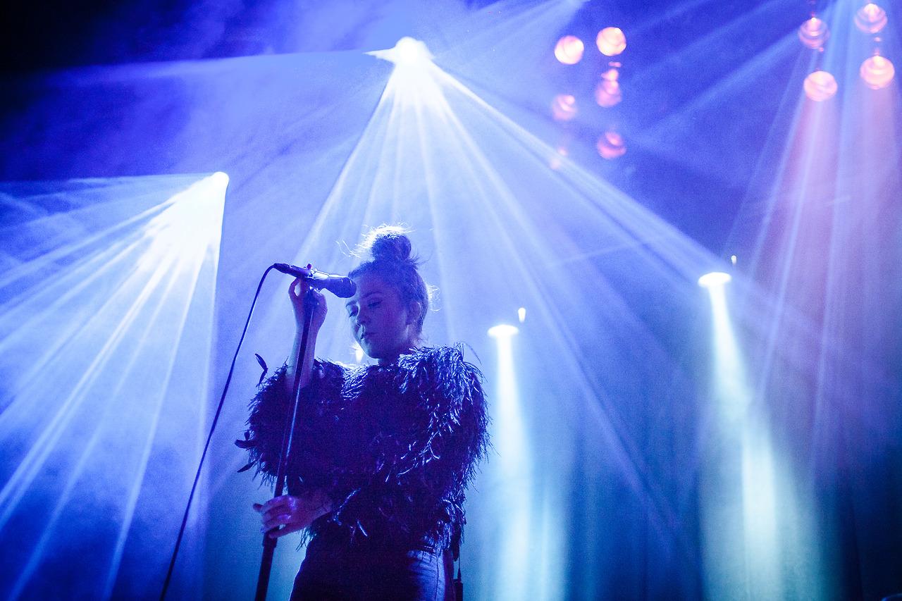 Emilie Nicolas at by:Larm 2014.