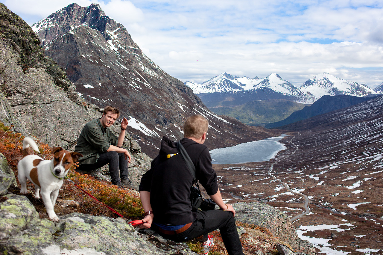A short trip to one of the mountains in Isfjorden.