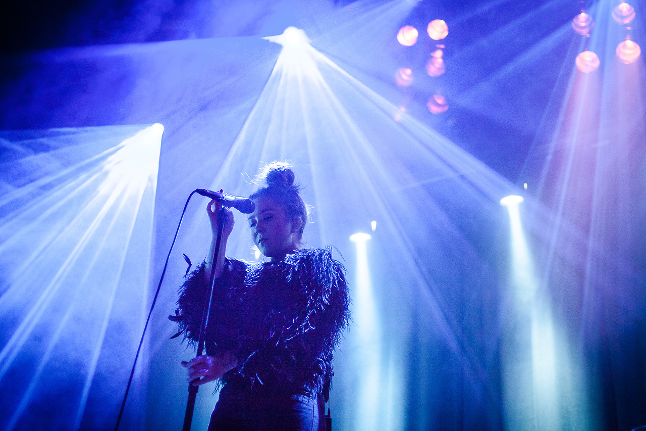 Emilie Nicolas at by:Larm 2014.