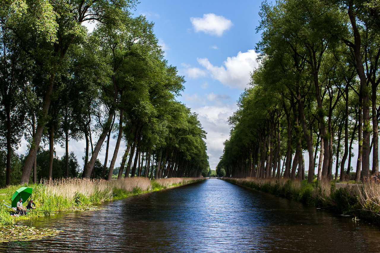 From Bruges to Damme.