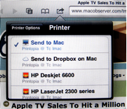 Printing from iPad, iPhone, and iPod Touch