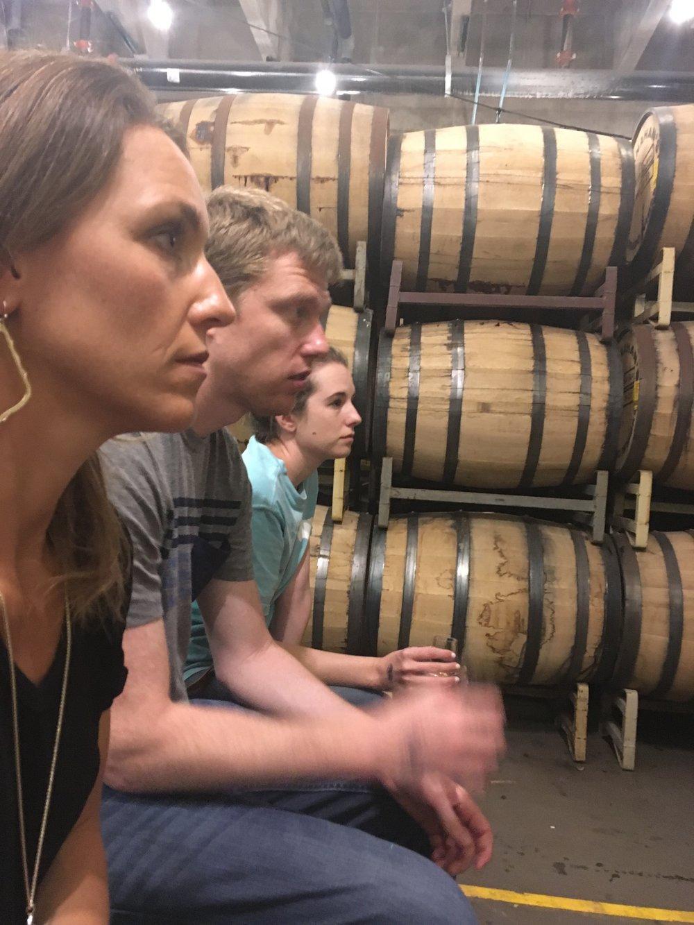 Took a distillery tour in Denver!