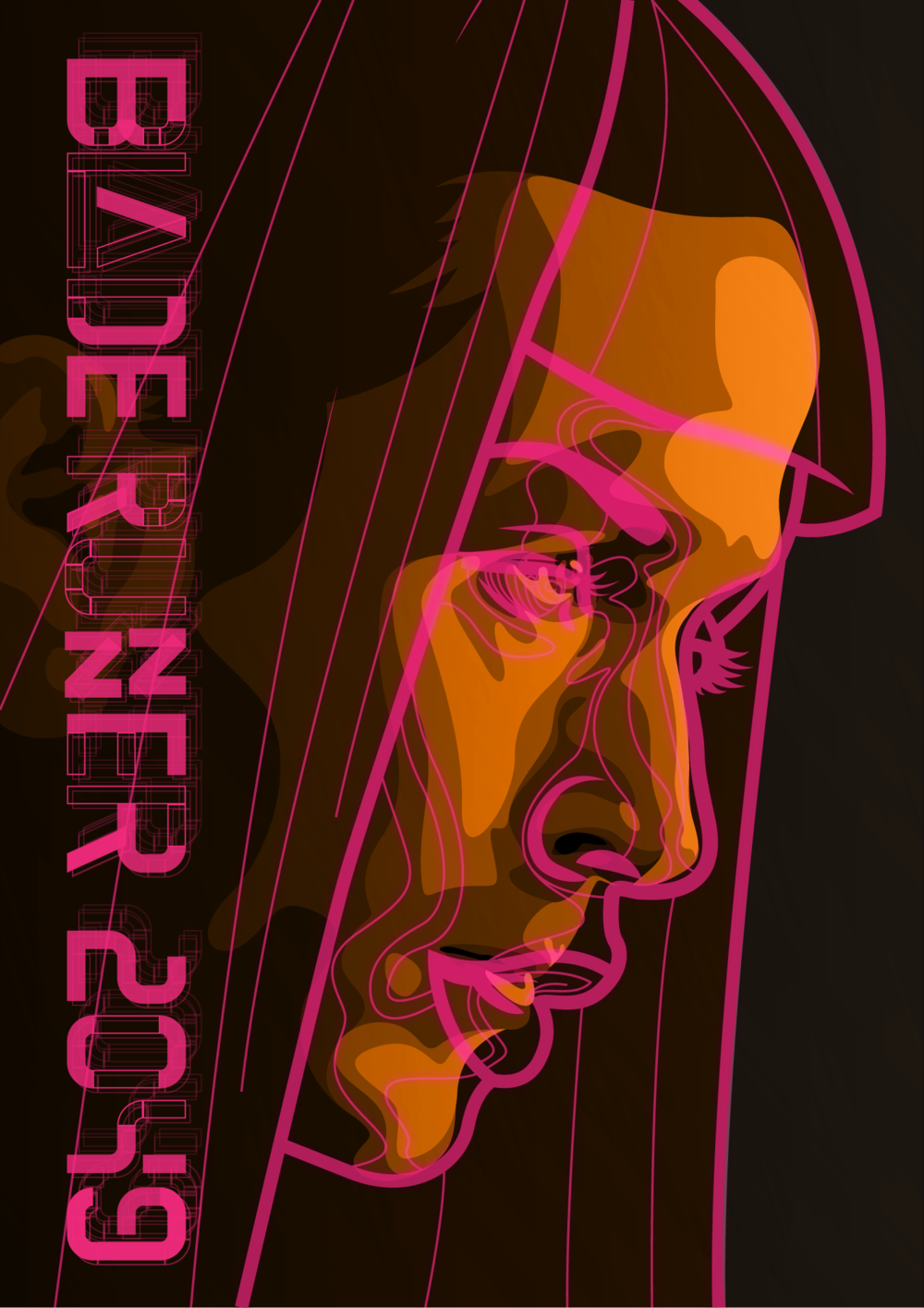 Movie poster for a competition.