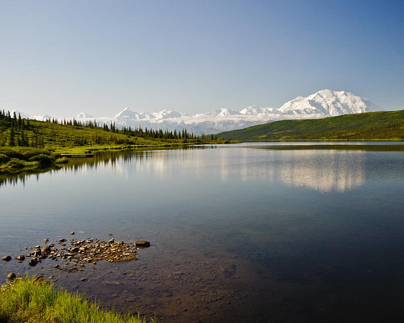 Denali at Wonder Lake