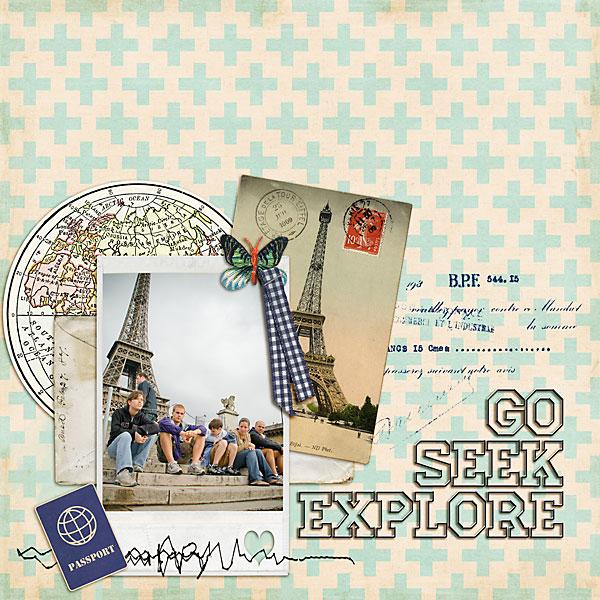 Go, Seek, Explore