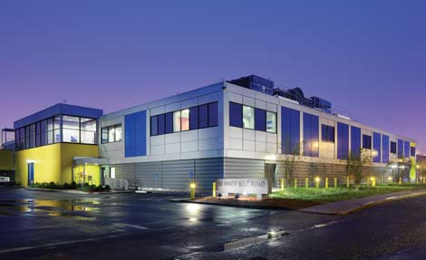 Internap's data center in Boston (picture courtesy of data center knowledge