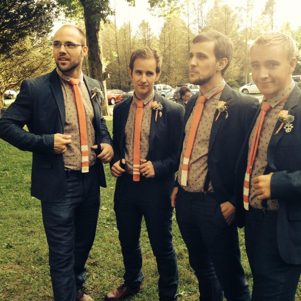 K: My brothers from left: Jon, Brett, Jeremy, and Ryan