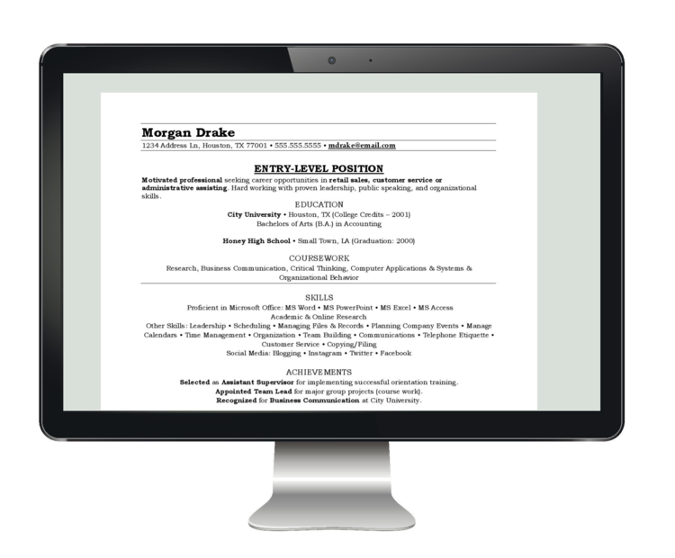 WHAT WE DO — Professional Resume Writing | Resume, Cover Letter ...