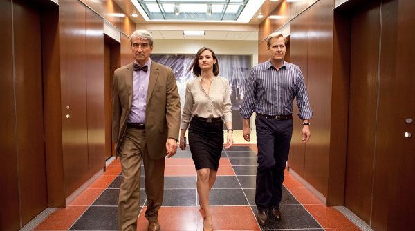 Sam Waterston, Emily Mortimer, Jeff Daniels