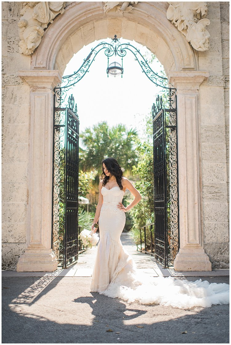 Miami wedding vizcaya gardens