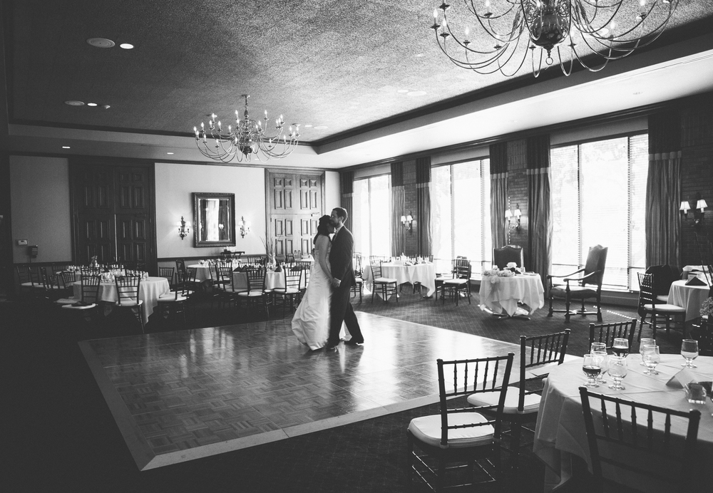"We really love the idea of the ""Last Dance"" - once all the guests have exited, the couple has some alone time to enjoy their wedding before it's over."