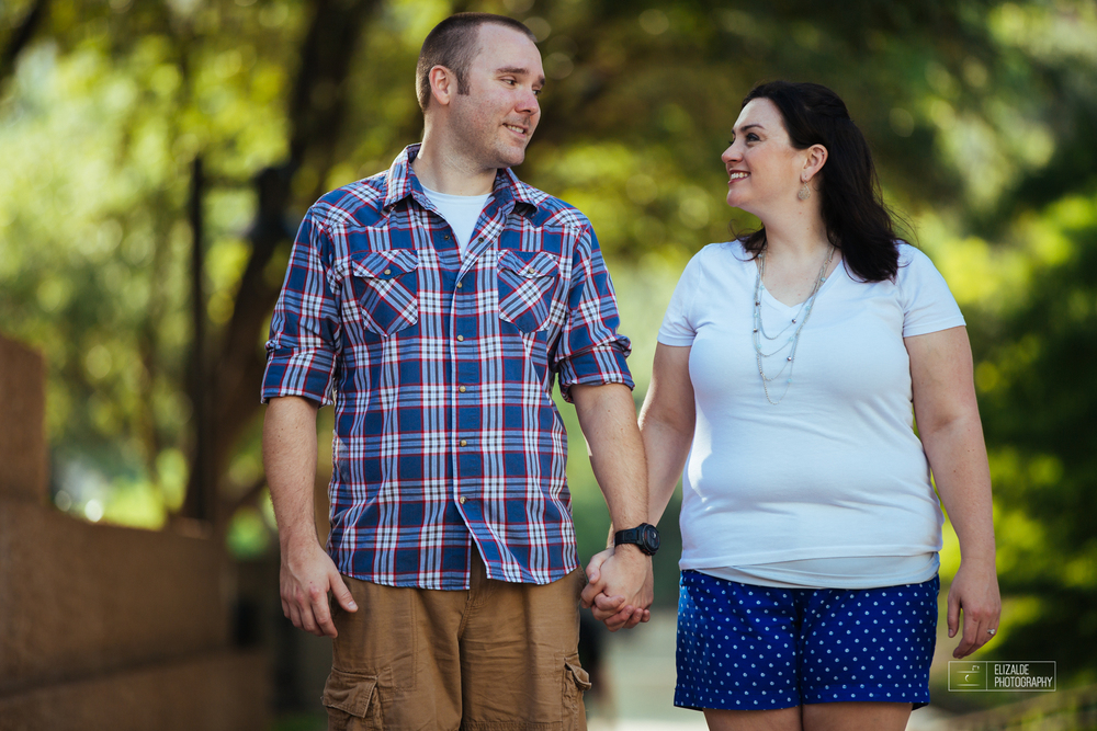 Engagement session_Theresa and Darren_DFW photographer_Elizalde Photographer_Water Garden Fort Worth13.jpg