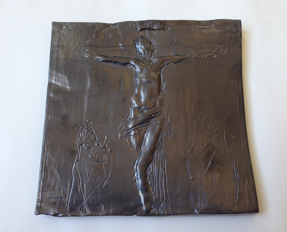 Crucifixion, Ceramic, 2013, 9.00 x 9.00.jpeg