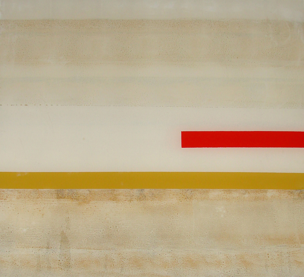 Red Over Yellow Diptych #1