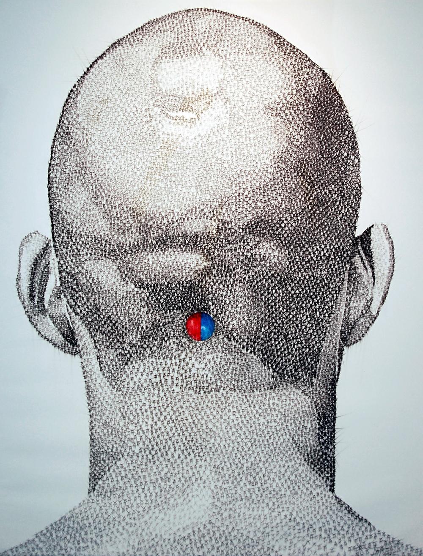 Dalvis Tuya, Sink, Mixed Media on Canvas, 2011,120 x 160 cm