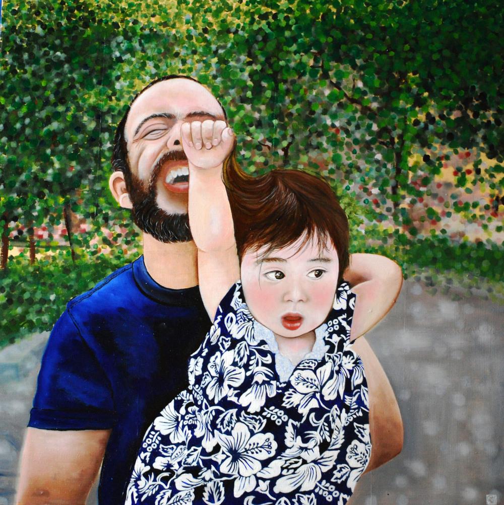 Kae Sasaki, Punch and Daddy