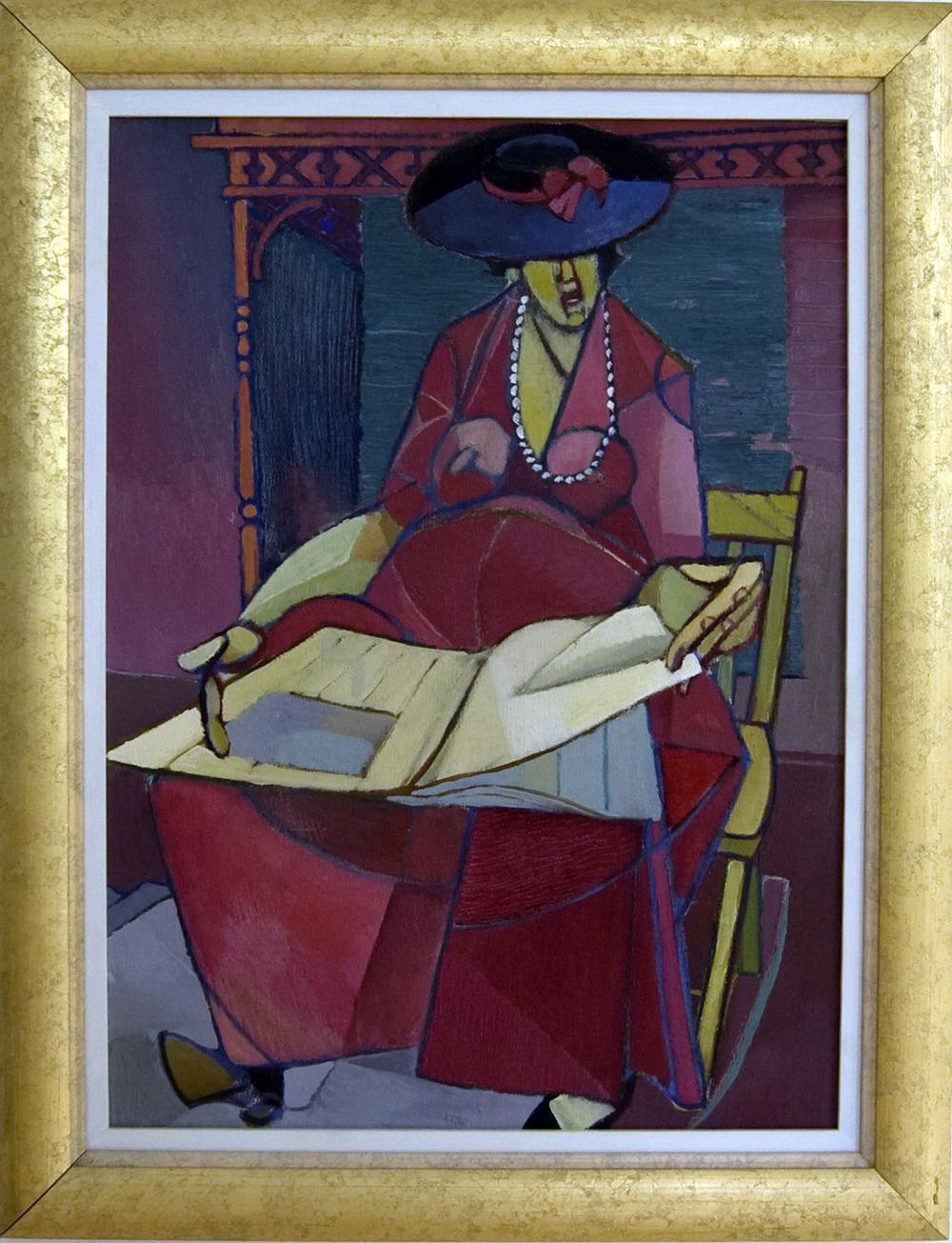 Robert Bruce, Woman Reading