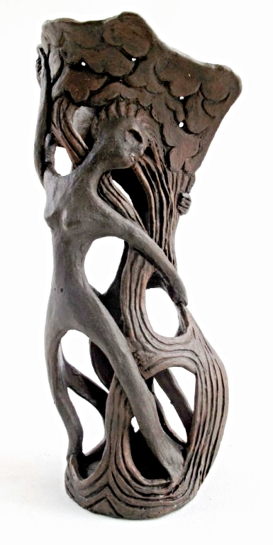 Elaine Banerjee, Wood Nymphs Vase