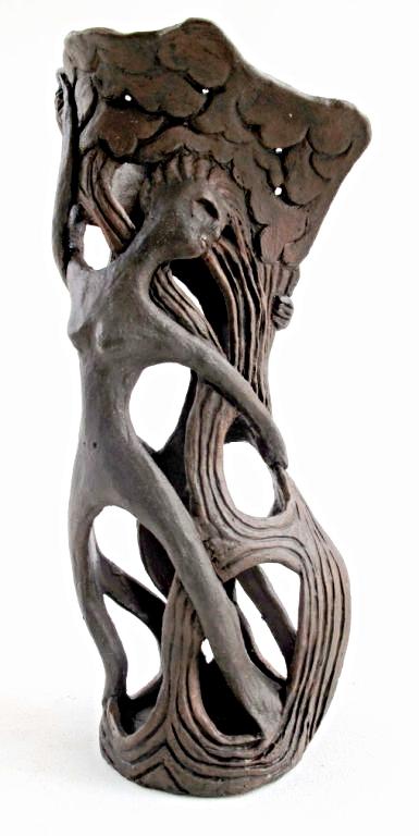 Elaine Banerjee, Wood Nymphs Vase