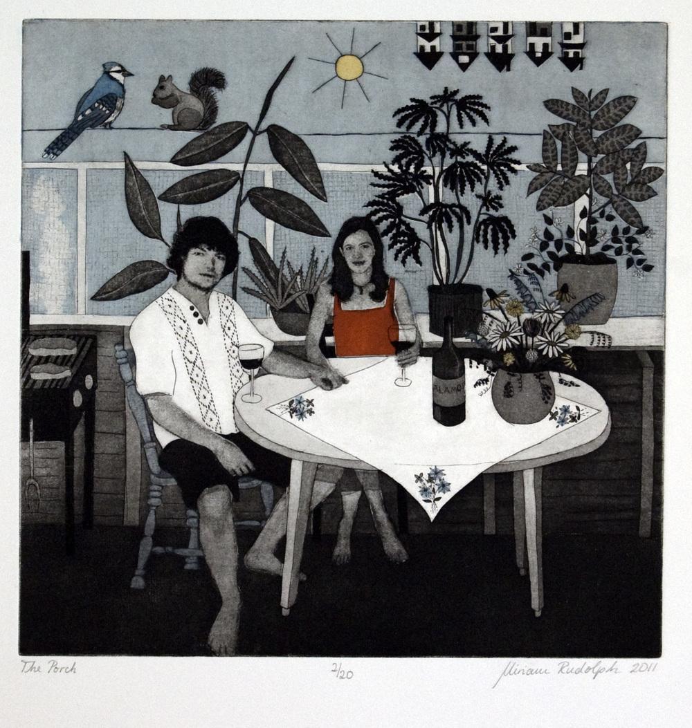 Miriam Rudolph, The Porch