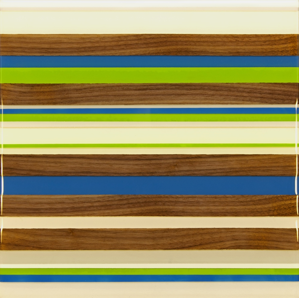 Kyle Herranen, Blue and Green Stripes
