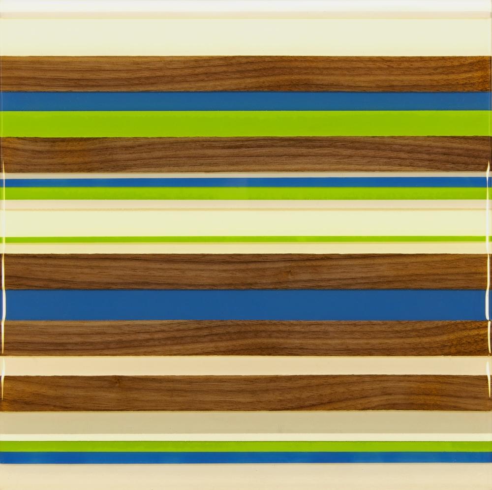 Kyle Herranen, Blue and Green Stripes