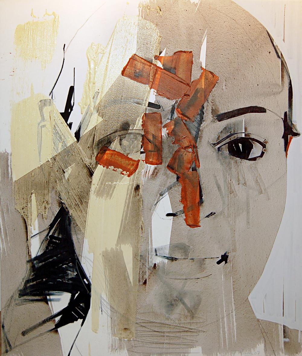 Francisco Nunez, Untitled (Portrait, Head)
