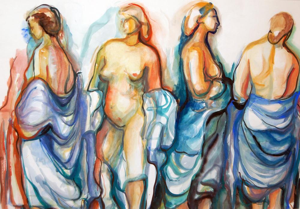 Marielouise Kreyes, Untitled (Nudes)