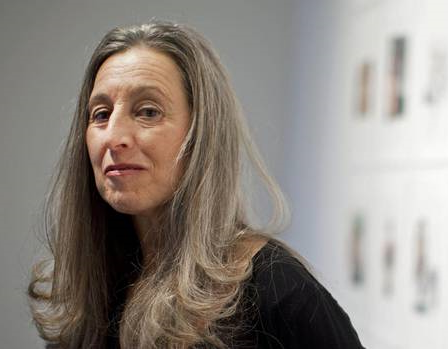 Carole Freeman at the Edward Day Gallery in Toronto, Nov. 30, 2011. (Moe Doiron/The Globe and Mail)