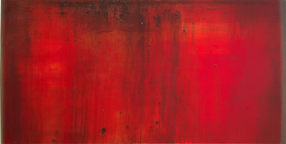 CW-017, Politics of Colour #5, Oil on Canvas, 6' x 3', SOLD