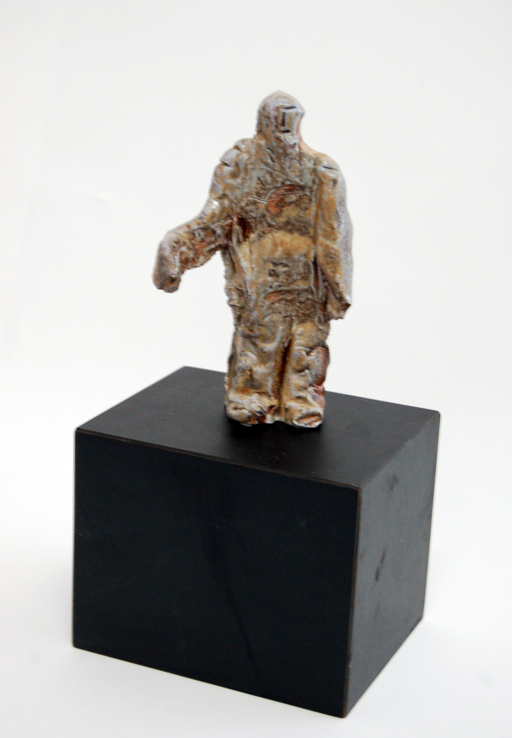 Small Figure (Standing Man), ca1980, Ceramic